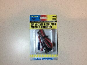 New Calterm Gm Voltage Internal Regulator Connector Harness 08608