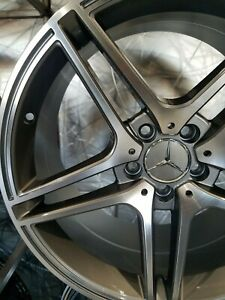 19 Staggered 45 Et Gunmetal E63s Amg Style Wheels For Mercedes Cla Cla250