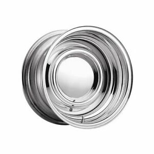 Cragar 15 X7 Chrome Smoothie Wheel 5x4 75 Bc Set Of 2