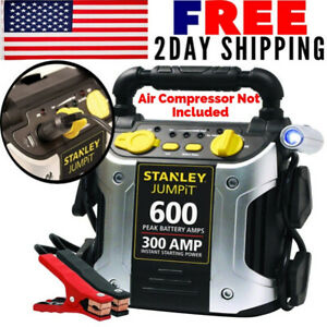 Portable Air Compressor Car Battery Charger Jump Starter Booster Power Pack Gift