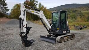 2011 Bobcat 325g Excavator Hydraulic Thumb Ready To Work In Pa We Finance