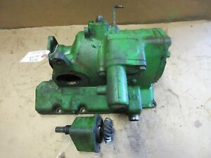 John Deere 70 Diesel Governor And Fan Drive