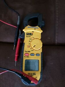 Uei Dl479 Hvac r Clamp True Rms Multimeter Meter 600a