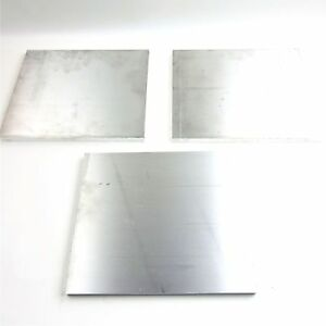 5 Thick 1 2 Aluminum 6061 Plate 9 25 X 10 75 Long Qty 3 Sku 175212