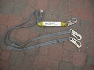 Safewaze 209550 6 Foot Shock Dual Leg Lanyard