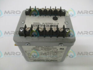 Scientific Columbus Exceltronic Xl5c5a2 1 3 Watt Transducer 240v Used