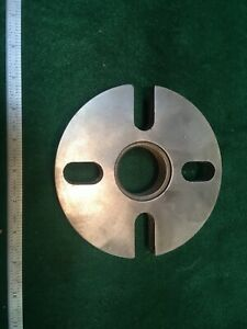 Clausing 4900 Face Plate 1 3 4 X 8 Threaded Mount Lathe South Bend Atlas