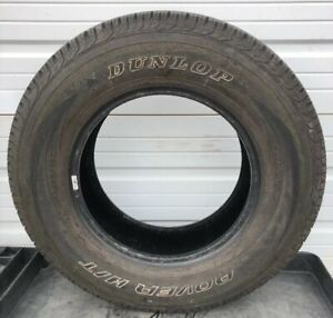 Dunlop Rover H T P265 70r17 113s Tire M S Used Tire