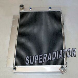 3 Row Performance Aluminum Radiator Fit For 1960 1963 Ford Galaxie 500xl New