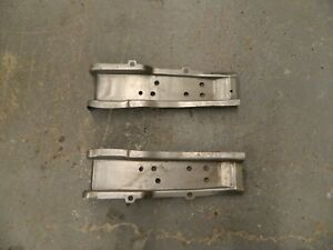 1959 60 Chevy Impala Rear Floor Pan Brace Pair Right And Left