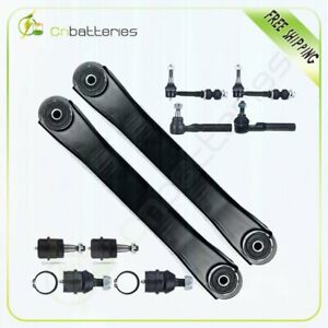 10pc Brand Front Steering Parts Sway Bar For 2000 2001 Dodge Ram 1500 4x4 4wd