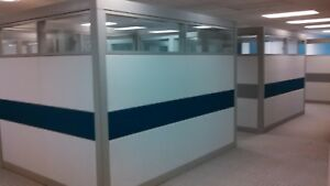 Steelcase Cubicles Prefab Modular Office Cublical With Desk Cabinet Glass