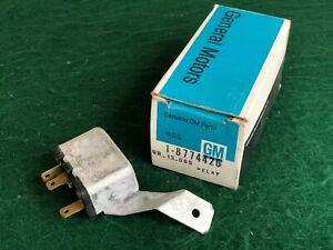 Nos 1969 1970 Chev Olds Pontiac Passenger Window Tail Gate Relay Gm 8774426