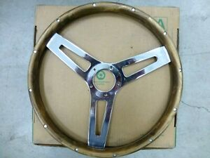 Grant 992 Classic Wood Steering Wheel Excellent Condition Fast Shipping