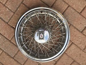 Olds 15 Inch Factory Oem Wire Wheel Cover