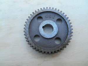 Logan Lathe Change Gear 46 T 5 8 Bore