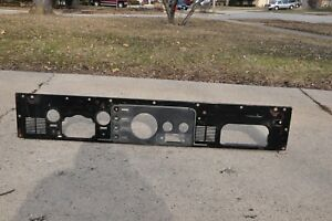 Jeep Cj5 Cj7 Cj8 Original Metal Dash Panel Laredo With 2 Speaker Grills