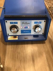 Beltone Scout Audiometer W Headphones Response Switch Currently Calibrated