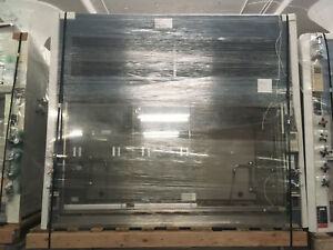 6 Duralab Chemical Fume Hoods Blue