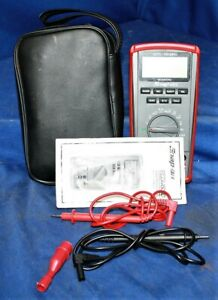 Snap On Auto Range Multimeter Eedm504d W Case
