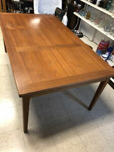 Danish Modern Mid Century Modern Teak Dining Table Made By Skovby Denmark