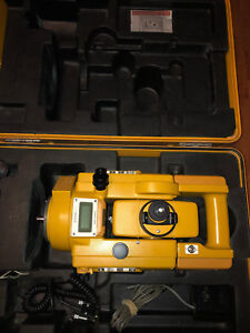 Topcon Gts 3c Transit Level With Case