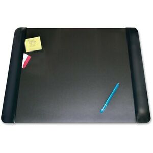 Artistic Matte Black Executive Desk Pad 4138 4 1