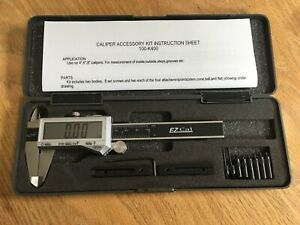 Igaging 100 k400 Extension Accessory Kit With Silver 4 Ezcal Digital Calipers