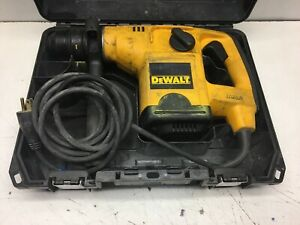 Dewalt D25404 Hammer Drill Sds Shank Type Corded Rotary Drill W Case
