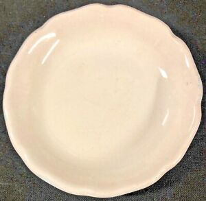 Vintage White Royal Ironstone Alfred Meakin 3 Saucer Plate Antique England Rare