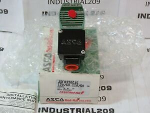 Asco Red Hat Jsf8320g15 1 8 3 way Solenoid Valve New In Box