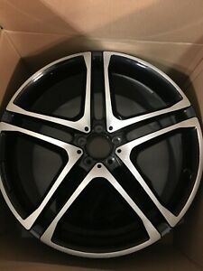 Rear 2018 Mercedes Gle Amg Wheel 11x22 Inch Wheel Reconditioned