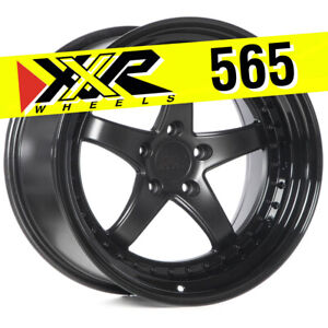 Xxr 565 18x10 5 5x114 3 20 Flat Black Wheels Set Of 4