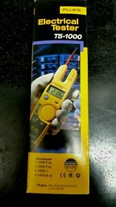 Brand New Fluke T5 1000 Digital Voltage Multimeter Continuity And Current Tester
