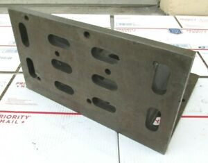 Eron Heavy Duty 16 X 12 X 9 Slotted Right Angle Plate g 111
