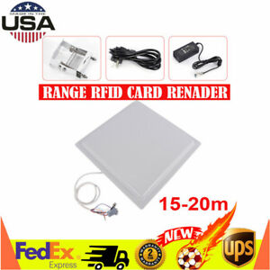 Integrative Long Range 15m Uhf Rfid Card Reader W Wiegand Rs232 Rs485 Interface