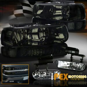 2000 2006 Chevy Tahoe Suburban Smoke Headlights Bumper Signals Fog Lights