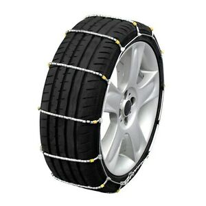 New Pair Quality Cobra Cable 1038 Cable Snow Chains Carry Bag Clearance