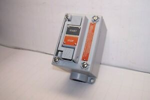 Allen Bradley Double Lever Momentary Actuator Start stop Switch 800h np15