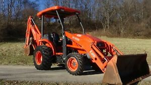 2006 Kubota L39 4x4 Tractor With Loader And Backhoe