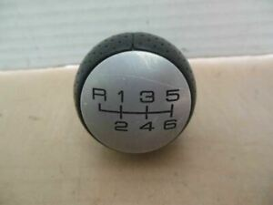 Ford Focus Svt Shift Knob Oem 6 Speed Shifter Leather Wrapped