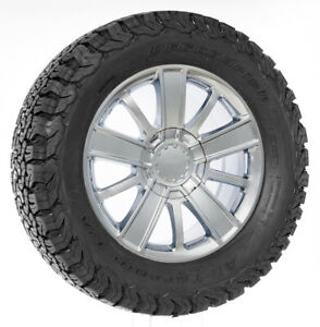 Chevy 20 Chrome High Country Style Wheels Bfg At Tires Silverado Tahoe Suburban