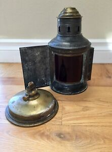 Unmarked Front Directional Red Green Oil Ship S Lamp