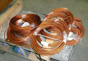Litz Wire Magnet Wire Cut Length 80 Feet 22awg 45 Strand 6awg equivalent