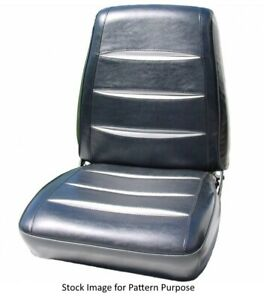 1968 Dodge Charger R T Bucket Front Seat Covers