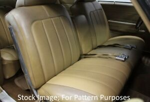1970 Buick Skylark Custom Gs 350 455 Bench With Armrest Front Seat Cover