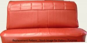 1964 Chevy Impala 4dr Sedan Station Wagon Straight Bench Front Seat Cover