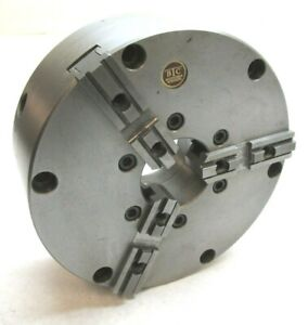 Btc 8 zero set Three jaw Lathe Chuck W Plain Back Mount