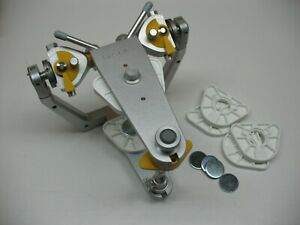 Sam 3 Magnetic Semi Adjustable Dental Articulator Great Lakes Ortho Lab Wax C