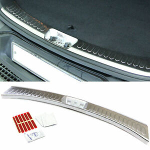Stainless Metal Trunk Rear Bumper Protector Cover For Kia 2011 2016 Sportage R